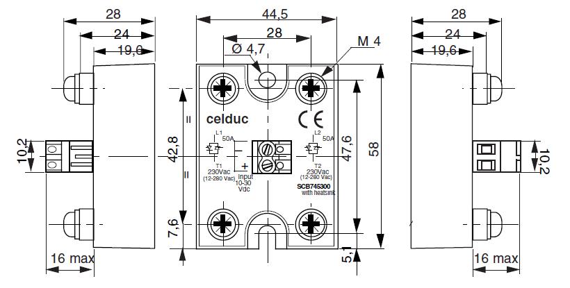 celduc two phase ssr -scb865300